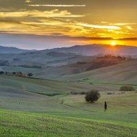 """Осенняя акварель.   Из серии """"Toscana - amore mio"""" :: Ашот ASHOT Григорян GRIGORYAN"""