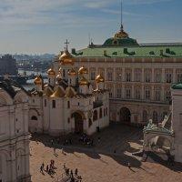 Соборная площадь Московского Кремля :: Надежда Лаптева