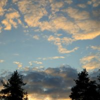 Про небо и облака.... :: Валентина Жукова