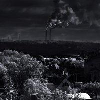 промышленные тучи :: Роман Романов