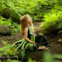 Waiting for rain (Little forest Nymph) :: Aleksandra Rastene