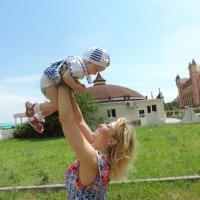 Если бы я могла встретиться с Богом, я бы поблагодарила его за то, что он подарил мне такого ребенка :: Анна Мамченко