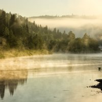 Утро на речке :: Александр Чазов
