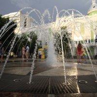 #фонтан#Краснодар перед дождем :: Cain Amberskii