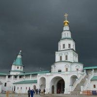 Надвратная Входоиерусалимская церковь. :: Лилия Гудкова