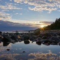 Закат.Финский залив. :: Анна Волкова