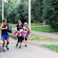 Вместе весело бежать.... :: раиса Орловская