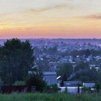 Дачный посёлок. Вечер :: Виктор Четошников