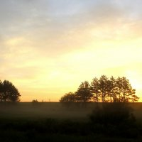 Перед восходом солнца. :: Борис Митрохин