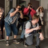 Как снимают фотографы... :: maxihelga ..............
