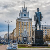 Москва. Памятник Маяковскому. :: В и т а л и й .... Л а б з о'в