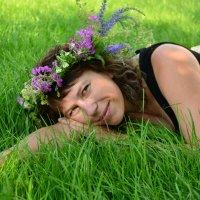 """Лето - это поцелуй солнечного зайчика, голубые """"брызги"""" цветов и много-много солнца! :: Андрей Беспалов"""