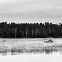 Вечер на озере :: Игорь Сон
