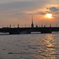 Закат в Санкт-Петербурге :: AllaSaa
