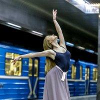 В метро :: Павел Ребрук