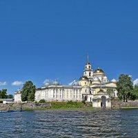 Вид на монастырь с озера. :: vkosin2012 Косинова Валентина