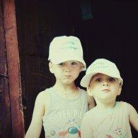 мои юные дачники :: Оксана Сячина