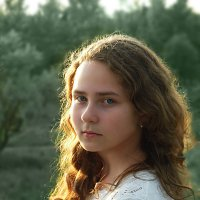 Волосы на закате :: Денис Ануфриев