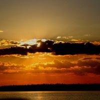 Закат над Саймой :: Александр Алексеенко