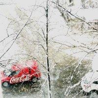 Зима и Coca-Cola :: Ирина Сивовол