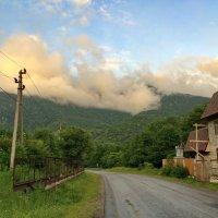 вечерние облака в Гузерипле :: Алексей Меринов