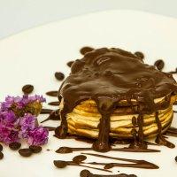 Блинчики с шоколадом :: Александра Михайлова