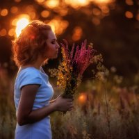 Золото заката :: Екатерина Савёлова