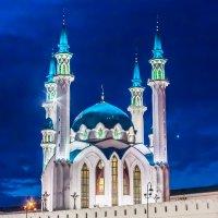 Красоты ночной Казани...Мечеть Кул Шариф.... :: игорь козельцев