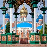 Свято-Воскресенский мужской монастырь,Самара. :: Сергей Щербатюк