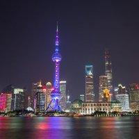 Шанхай. Район Пудун :: Дмитрий Николаев