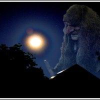 Когда взойдёт и захмелеет на небе полная луна, :: юрий