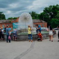 День города в Новосибирске, все у фонтана. :: Света Кондрашова
