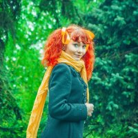 Рыжеволосая красавица :: Екатерина Смирнова