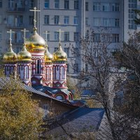 Москва. Храм Святителя Николая Чудотворца. :: В и т а л и й .... Л а б з о'в