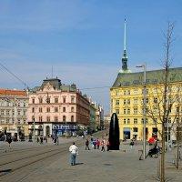 Площадь Свободы в Брно :: Денис Кораблёв