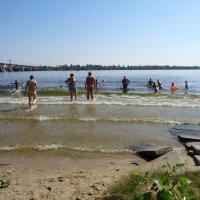Морские волны Днепра... :: Алекс Аро Аро