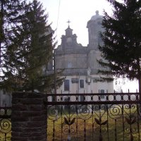 Бывший  римо - католический  храм  в  Городенке :: Андрей  Васильевич Коляскин