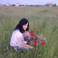 На поле :: Александр Бычков