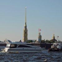 Вечер...Нева... корабли...короче.... ЛЕТО..)))))) :: tipchik