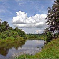 Облако над рекой :: Вячеслав Минаев