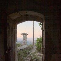 Вид из заброшенного дома :: Дмитрий Пряхин