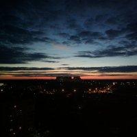 Вечернее июньское  небо :: Николай Филоненко