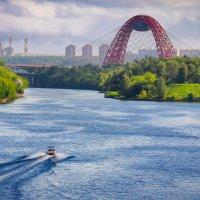 Москва. Вид от Срогинского моста. :: В и т а л и й .... Л а б з о'в