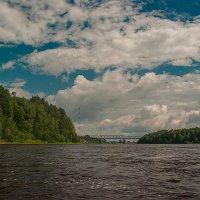 Река Онега :: Валентин Кузьмин