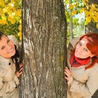 Осенняя фотосессия в парке :: Сергей Тагиров
