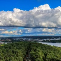 Облака над городом :: Евгения К