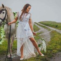 Под дождём :: Алиса Кондрашова