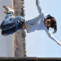 прыжок :: Вера Ярославцева