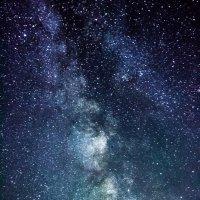 Млечный путь и яркий болид :: Антон Васильев
