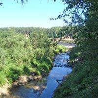 речка Саланга впадает в Сухону :: Р о м a н